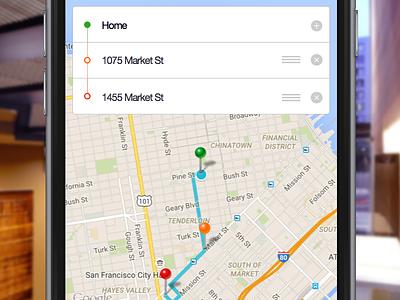 Uber Multiple Stops uber iphone app ios