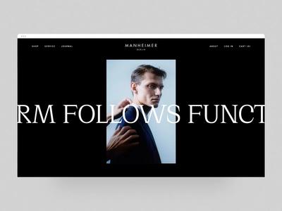 Manheimer Berlin - Website