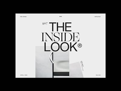 PER-SONA — Website No. 1 chair furniture minimal visual design layout uiux ux ui website web grid whitespace black  white typography design