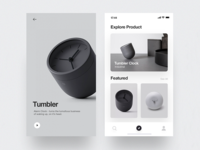 Tumbler Product - App