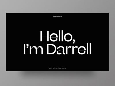 Darell Williams - Portfolio