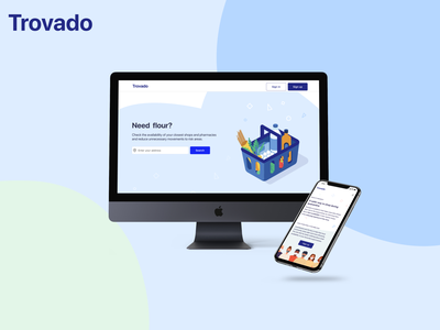 Trovado - Check Product Availability covid supermarket stock trovado