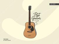 Flat Guitar