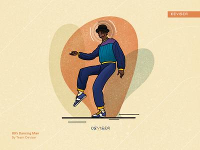 80's Dancing Man