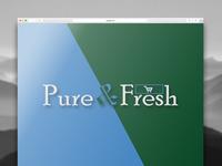 Pure Fresh Online Sopping Logo