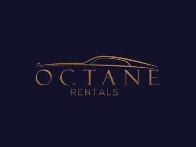 Octane Car Rental company Logo