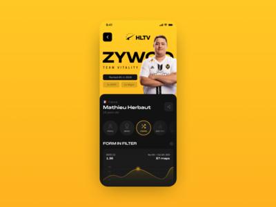 HLTV.org | App Concept