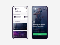 Chiketto - Ticketportal | iOS Device Concept