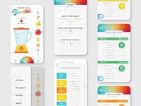 Smoothie App design
