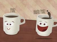 Happy Cup & Really Happy Cup