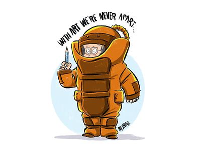 selfportrait message for society staypositive childrenbook design characterdesign illustration