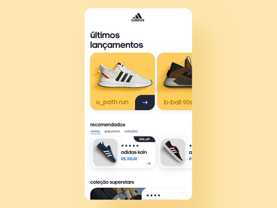 Adidas App Interaction