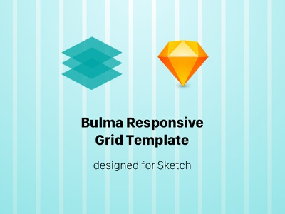 Free Responsive Grid Template for Bulma sketch template grid