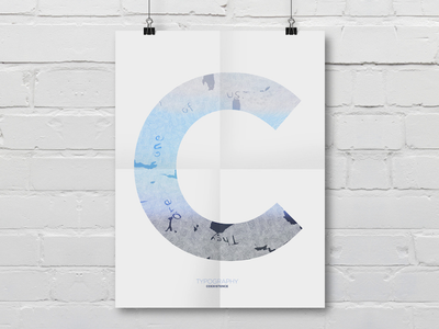 TYPOGRAPHY COEXISTENCE poster personal