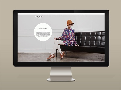 ORION LONDON branding web campaign