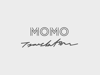 MOMO Logo Design branding logo typography