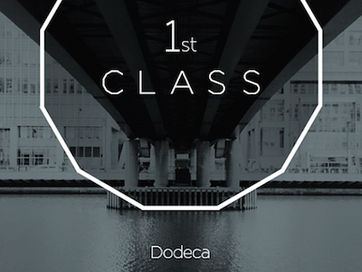 1st class Dodeca series font new typeface angular bold decorative poster retro light display headline