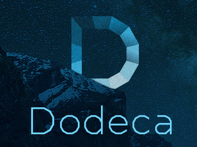 Dodeca Basic Typeface is out now! data futurist visual ui ux letter typo typemake type font