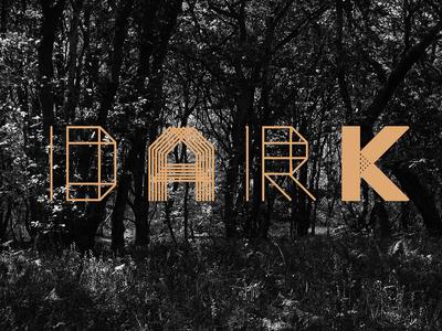 Moku26 Typeface visual dark moku typography font