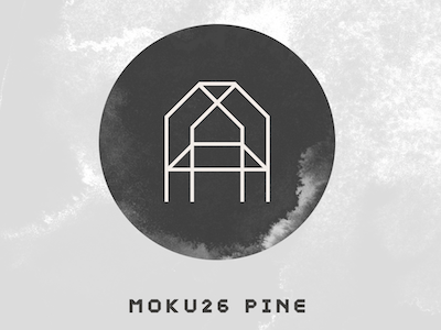 MOKU26-PINE magazine headline display light decorative block bold angular typeface new dejavutf font