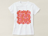 Lovely Flowers on T-Shirt