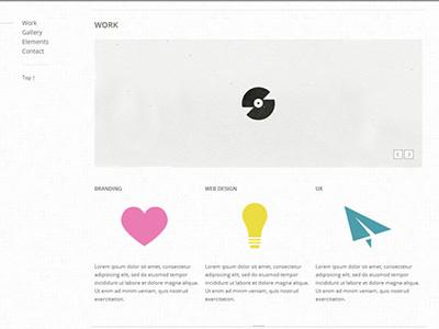 Old website template (year 2012) web design web website