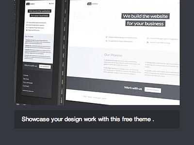 [GIF] PFL Theme Navigation menu ui rwd website wordpress web design web navigation mobile responsive toggle portfolio nav