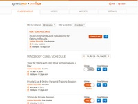 Dashboard Powhow + Mindbody