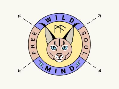 Wild Animal Logo Badge