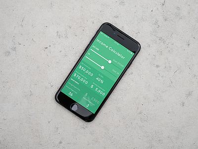 DailyUI 004: Calculator freelance uidesign mobile ui dailyui dailyui004