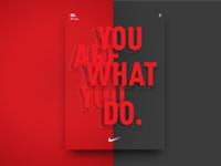 Nike poster