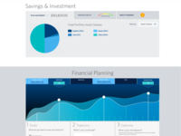 Dashboard -  Investing + Financial Planning