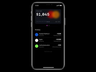 Bank App bank app principle ios mobile app animation