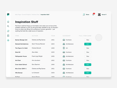 Share Page Experience interaction ux ui animation product design web