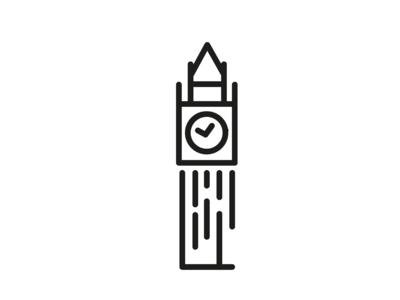 Big Ben London Icon