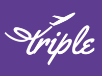 Triple Travel App Logo Wordmark
