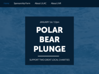 Website Created for Polar Bear Plunge