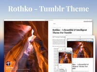 Rothko - A Beautiful & Intelligent Theme For Tumblr
