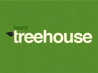 Team Treehouse Logo - Type Treatment