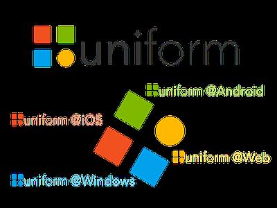 Logo of uniform project logo design