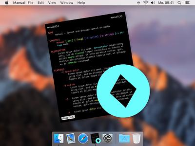 manual app icon icon app