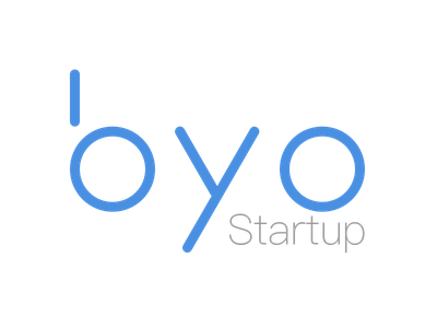 Logo for byo - Build Your Own Startup logo