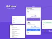 Helpdesk Dashboard - Next Admin Template