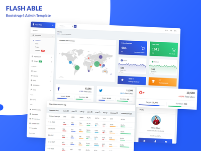 Flash Able Bootstrap 4 Admin Template ui designer uiux admin templates admin panel template admin panel design bootstrap admin dashboard template dashboard design ui admin design branding admin panel admin theme ui  ux design sass admin template admin dashboard dashboard ui bootstrap dashboard