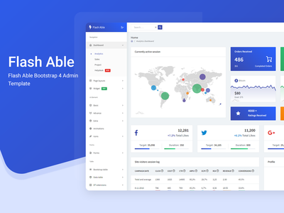 Flash Able Bootstrap 4 Admin Template bootstrap 4 ui ux design ui ux admin templates bootstrap 4 admin template bootstrap admin bootstrap4 bootstrap admin ui admin design branding admin panel admin theme sass ui  ux design admin template admin dashboard