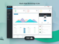Freebie - Mash Able Admin Template