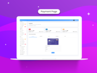 Payment Page - Gradient Able Dashboard