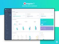 Angular : Datta Able Admin Dashboard
