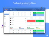 Free Material Able Admin Template