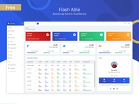 Free Flash Able Admin Template